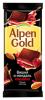 "Темный шоколад Alpen Gold ""Вишня и миндаль"""