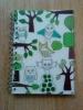 Тетрадь IKEA A4 с совами, белые листы