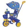 """Детский трехколесный велосипед с ручкой для мамы """"Самолетик"""" TT16CP от Joy Toy"""