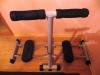 Тренажер для ног и ягодиц Torneo Slide Master