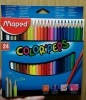 "Цветные карандаши Maped ""Color'Peps"" 24 цвета"