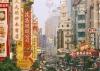 Улица Nanjing Road в Шанхае (Китай)