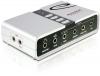 Внешняя звуковая карта STLab USB Sound Box 7.1 Channel