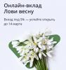 "Вклад ""Лови весну"" в Сбербанке"