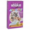 """Вкусные подушечки с молоком Whiskas для котят """"Аппетитное ассорти с индейкой и морковью"""""""