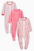 """Набор из трех розовых пижам с кошками """"Next"""""""