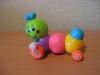 "Заводная игрушка Ge Shini ""Гусеница"" арт. 618"
