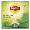 """Зелёный чай Lipton """"Интенсивная мята"""""""