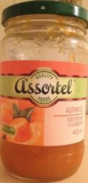 Абрикос протертый с сахаром Quality foods Assortel