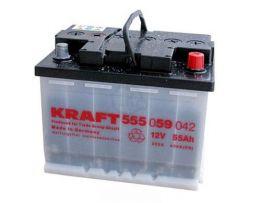 Аккумулятор KRAFT 55 А/ч