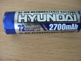 Аккумулятор Hyundai 2700 mAh AA