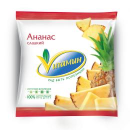 Ананас сладкий замороженный Vитамин Мираторг