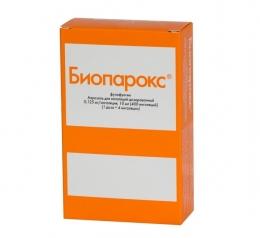 """Антибиотик для местного применения """"Биопарокс"""""""