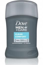 "Антиперспирант-карандаш Dove Men+care ""Clean comfort"" экстренная защита и уход"