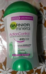 Антиперспирант стик Garnier Garnier mineral ActionConrol