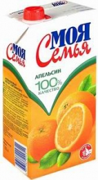 Апельсиновый сок Моя Семья