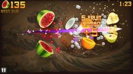 Аркада Fruit Ninja на Android