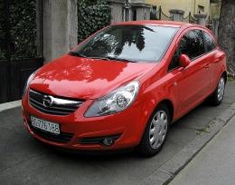 Автомобиль Opel Corsa D