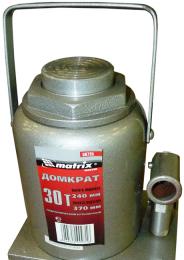 Автомобильный гидравлический бутылочный домкрат Matrix 10 Т