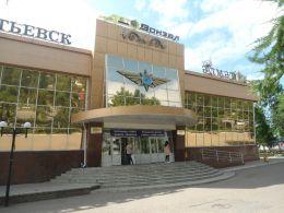 Автовокзал города Альметьевск (Россия, Татарстан)