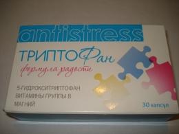 """Витаминно-минеральный комплекс ТриптоФан """"Формула радости"""" Antistress"""