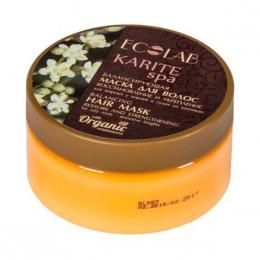 """Балансирующая маска для волос Ecolab Karite Spa """"Восстановление и укрепление"""""""