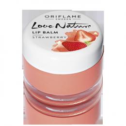 "Бальзам для губ Oriflame Love Nature ""Strawberry"" Клубника"