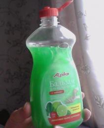 """Бальзам для мытья посуды """"Alpika"""" с лаймом"""