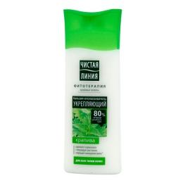 """Бальзам-ополаскиватель для волос укрепляющий """"Чистая линия"""" Крапива для всех типов волос"""