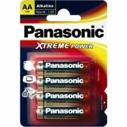Батарейки Panasonic LR06 (AA) Alkaline Xtreme Power