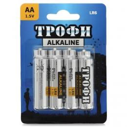 "Батарейки щелочные ""Трофи"" Alkaline AA LR6"