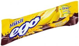 Батончик мюсли Ego банан в шоколаде