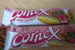 Батончик мюсли Cornex со вкусом малины