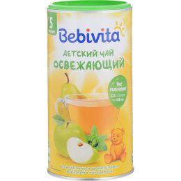 """Чай детский Bebivita гранулированный быстрорастворимый """"Освежающий"""" с 5 месяцев"""