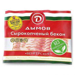 """Бекон сырокопченый """"Венгерский"""" Дымов"""
