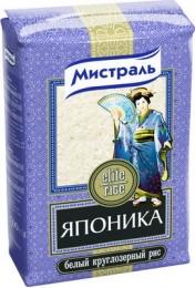 """Белый круглозерный рис Мистраль """"Японика"""""""