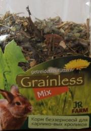 Корм беззерновой для карликовых кроликов JR Farm Grainless Mix