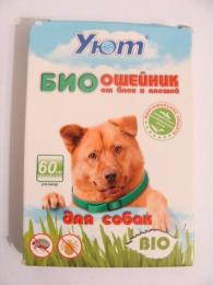 """Био ошейник для собак от блох и клещей """"Уют"""""""
