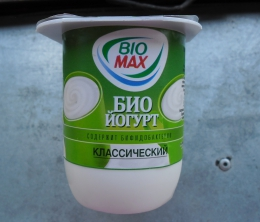 "Биойогурт Bio Max ""Классический"" 3,2 %"