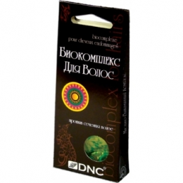Биокомплекс для волос DNC против сечения волос