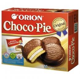 Бисквитное печенье Orion Choco Pie