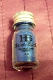 """Блестящая пудра для ногтей и тела """"Helen Black"""" № 167"""