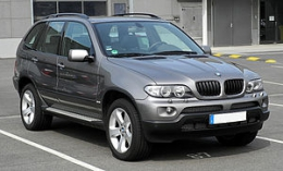 Автомобиль BMW Х5 серии Е53