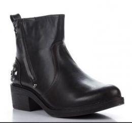 Ботинки женские темно-коричневые Jumex Coffee V95013