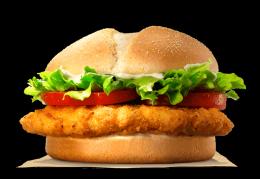 """Сэндвич """"Чикен филе"""" Burger King"""