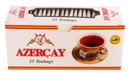 """Чай чёрный Azerçay """"Азерчай"""" с ароматом бергамота в пакетиках"""