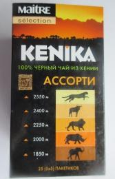 Чай черный байховый пакетированный Maitre Kenika Ассорти