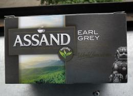 Чай черный байховый с ароматом бергамота Assand Authentic Earl Grey в пакетиках