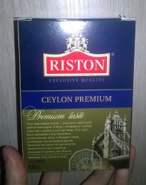 Чай черный байховый цейлонский листовой Riston Ceylon Premium