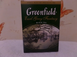 Чай черный Greenfield Earl Grey Fantasy